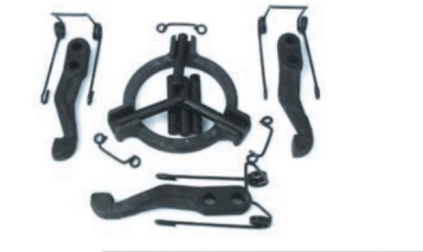 Ремкомплект деталей корзины сцепления(с кольцом)А-41,СМД-18