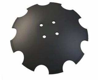 XL034 Диск зубчатый 460х4, 4 отв. d 12,5 мм на 110мм (CELSAN Турция)
