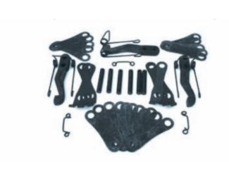 Ремкомплект деталей корзины сцепления(с пластинами)А-41,СМД-18