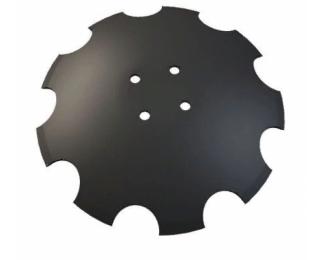 XL043 Дис зубчатый 460х4, R-610,отв. d 11,5 mm на 120mm. (Италия)